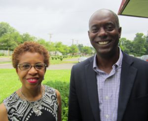 CT Health's Maryland Grier, and Gregory M. Jones of the Omega Foundation of Hartford.