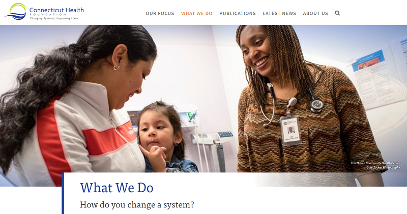 Our what we do page